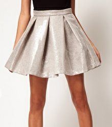 ful sequin skater skirt