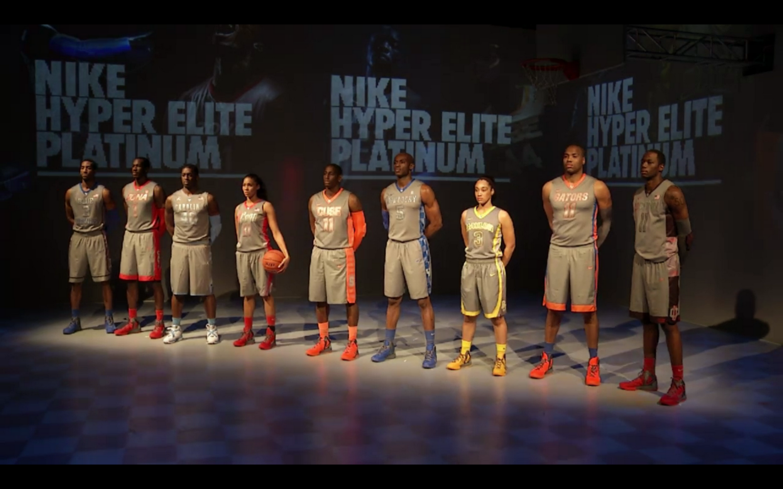 Nike Presenta Uniformes Hyper Elite Platinum De Nueve Equipos
