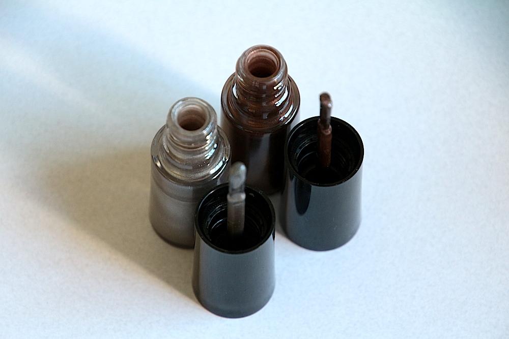 armani collection velvet vernis à ongles 714 iron velvet 214 incense velvet avis test swatch