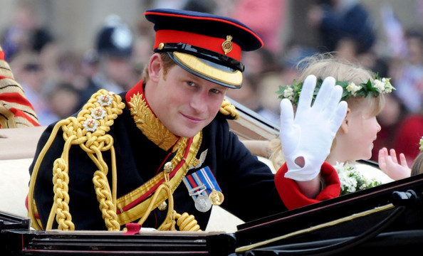 Prince Harry is always smiling and this one has made quite a number of
