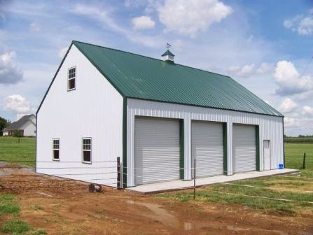 Smith steel supplies for 3 car garage metal building