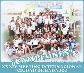 "XXXIV Meeting Internacional ""Ciudad de Badajoz"""