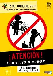 Día Mundial contra el Trabajo Infantil en imagen