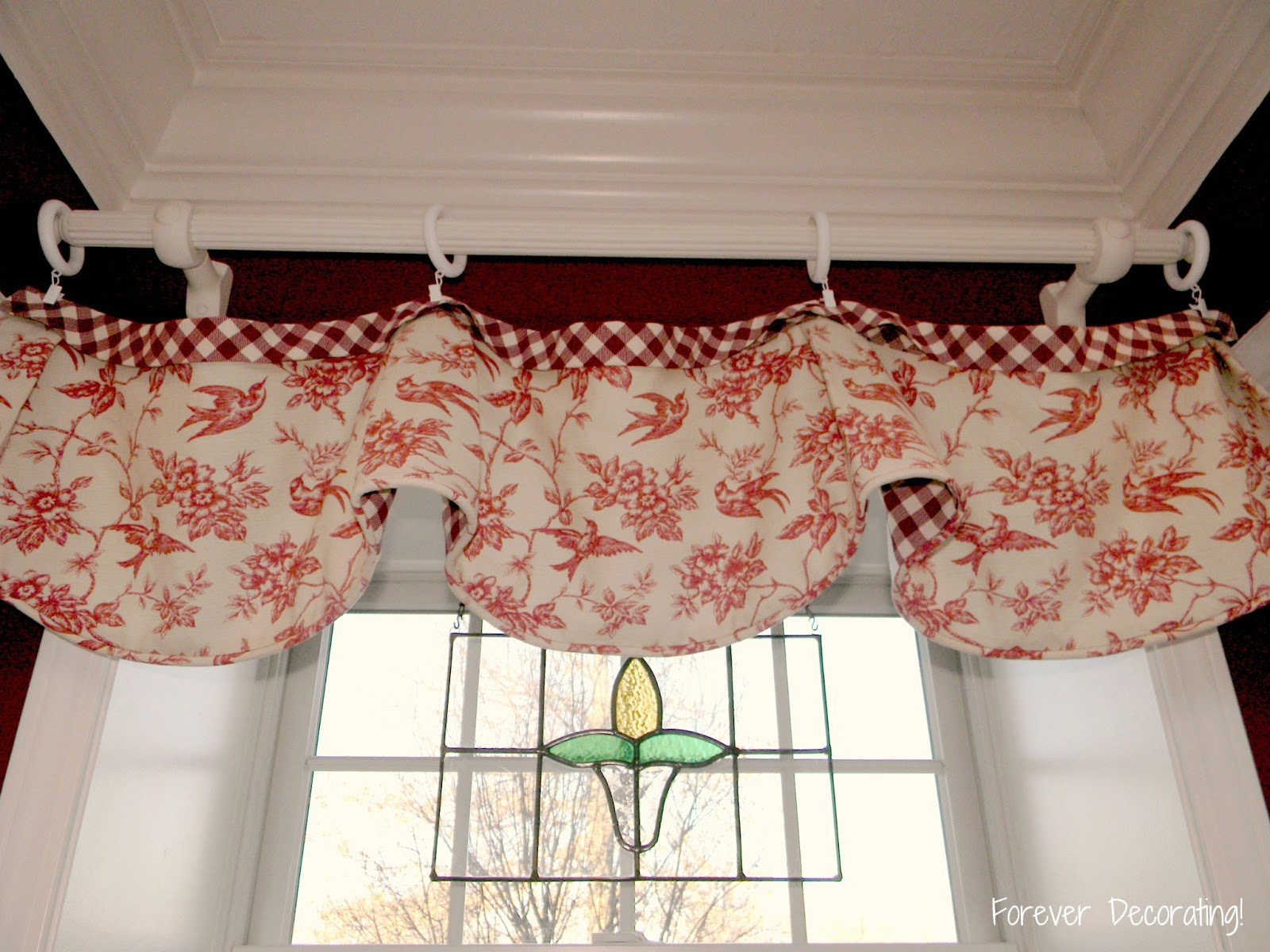 Forever decorating too many valances for Valance curtains for kitchen