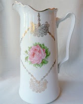 Tall Rose Pitcher