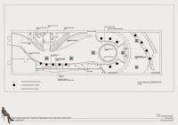 Plano planta Proyecto Interiores para Discoteca cfzdesign