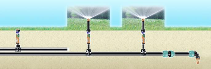 Ferramenta rossi il fai da te con l 39 irrigazione interrata for Claber irrigazione interrata