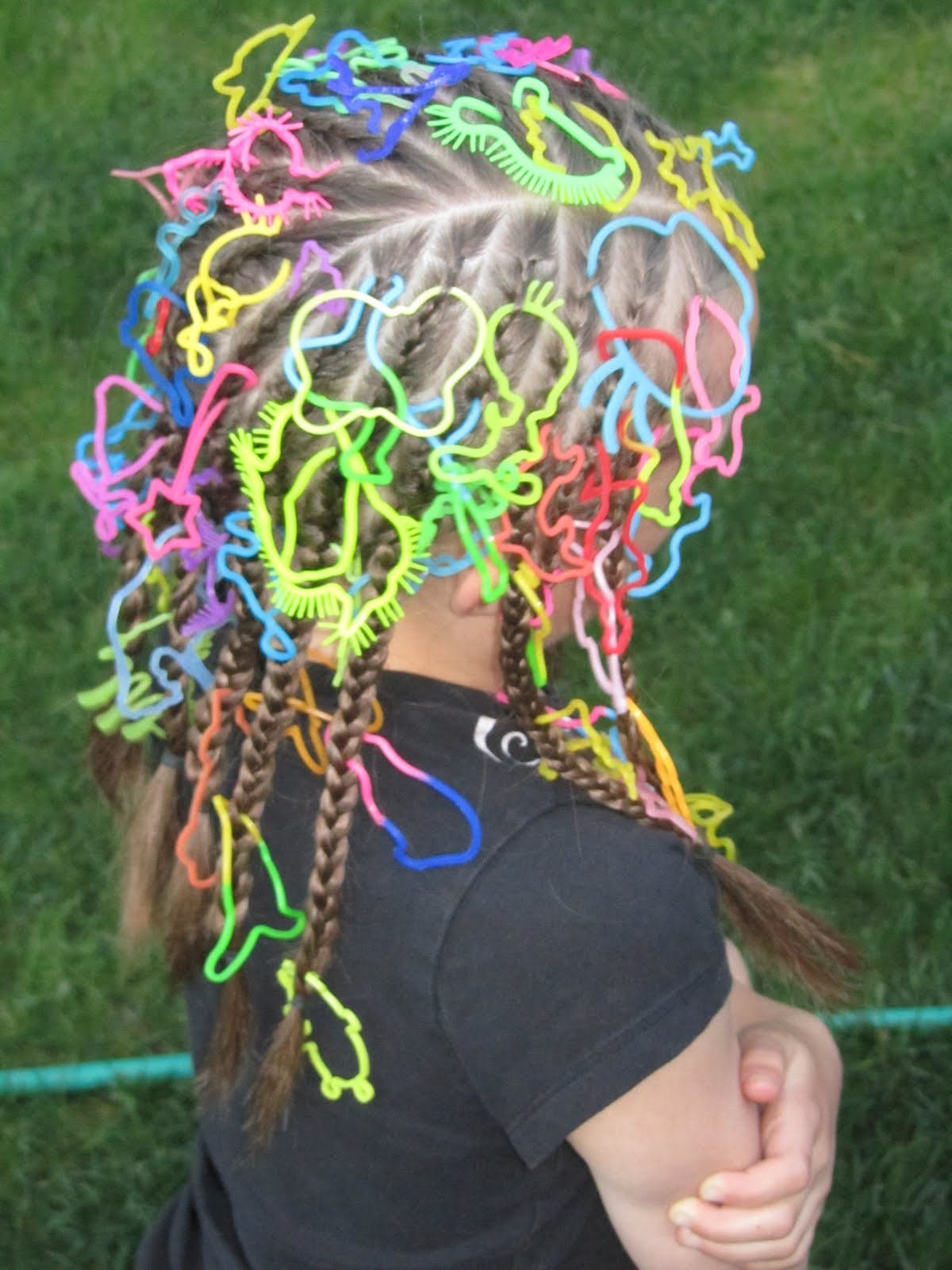 Hairstyles For Crazy Hair Day