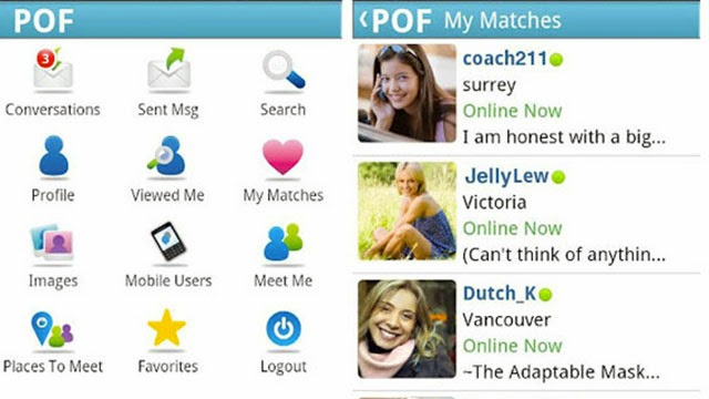 Dating apps liste