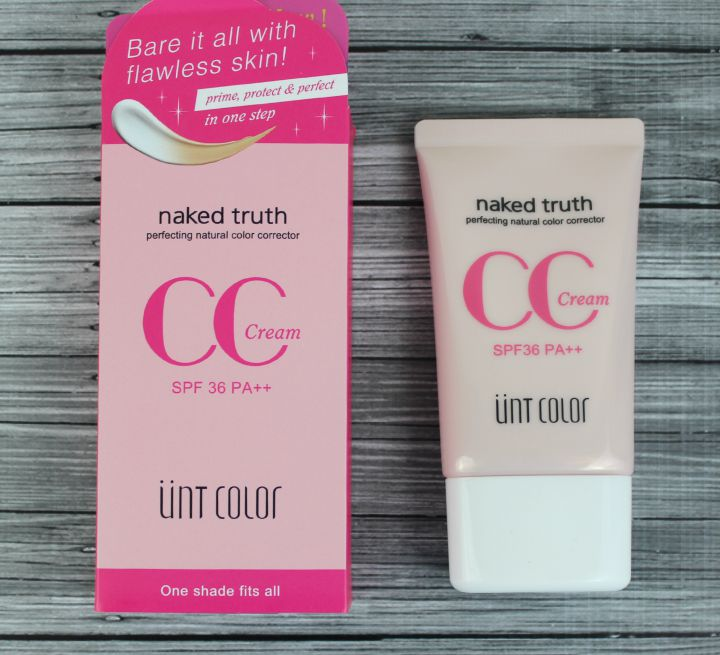 UNT Color Cosmetics Naked Truth CC Cream