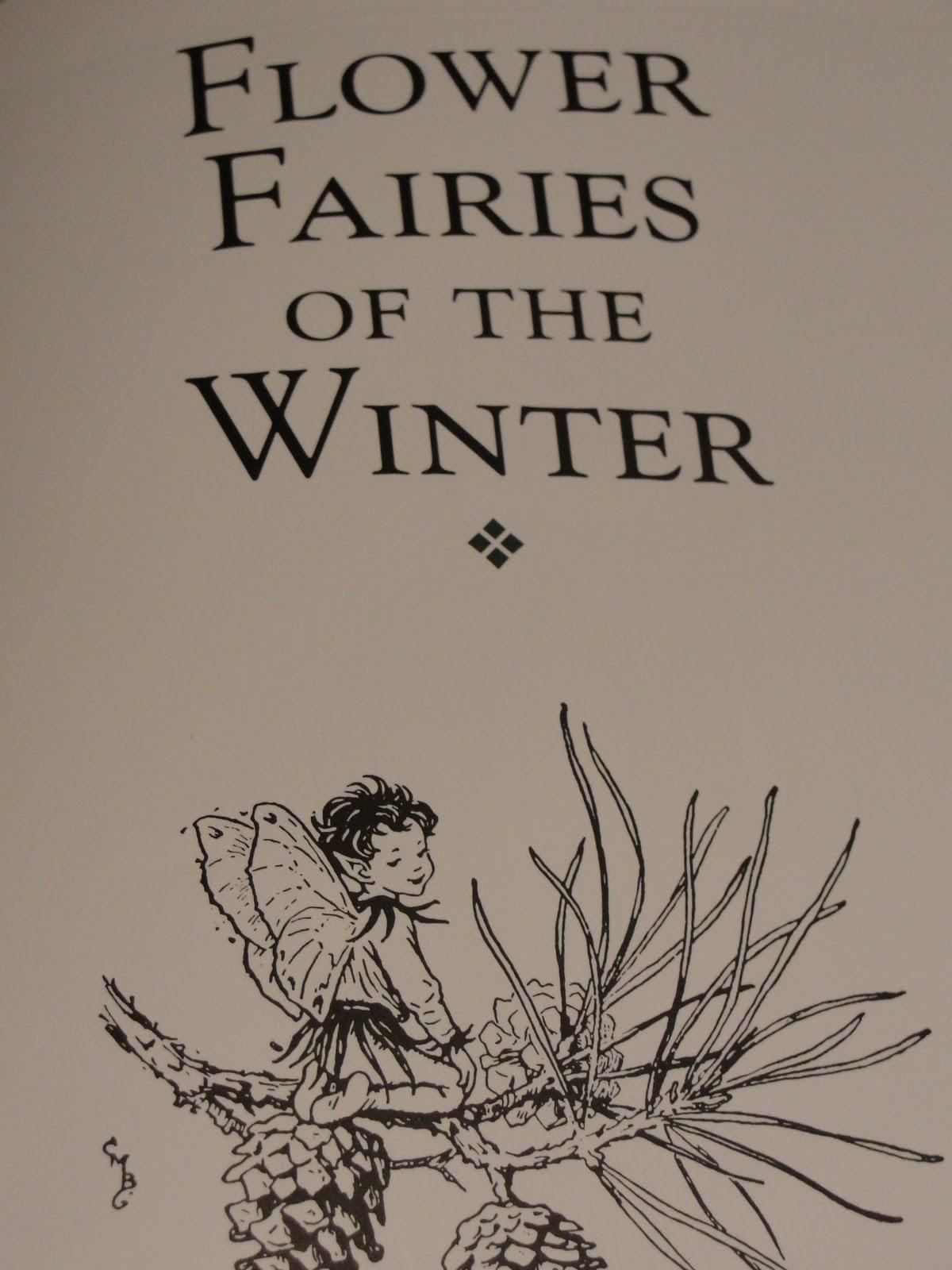 welcoming winter fairies into our garden