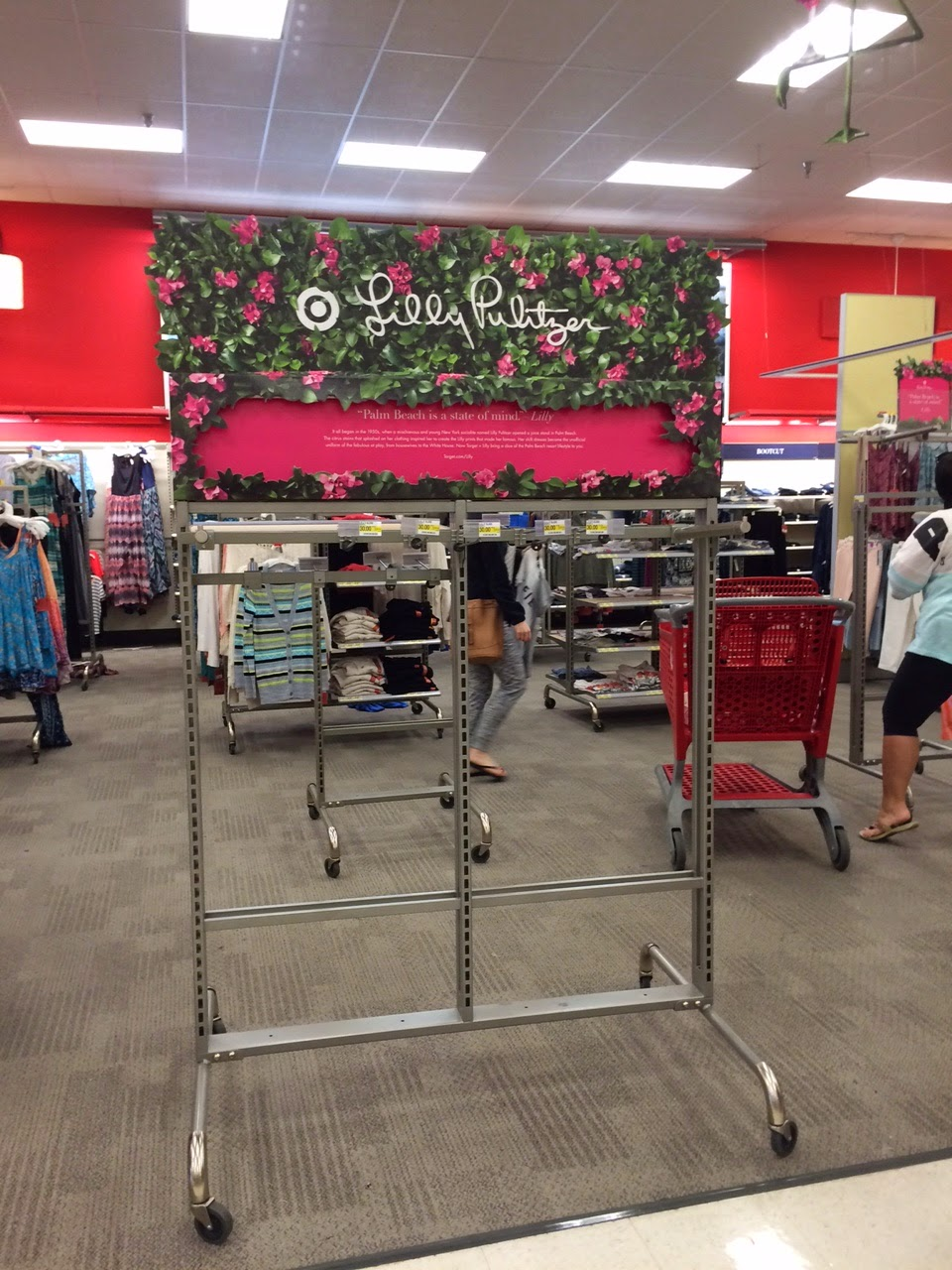 lilly for target empty rack 10 minutes
