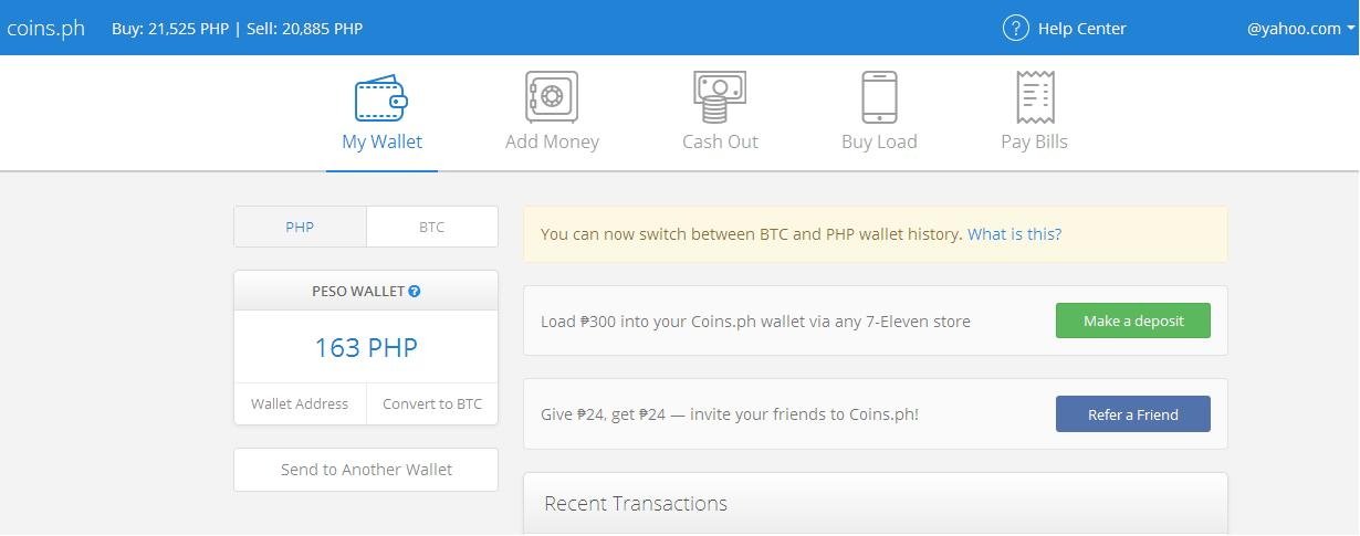 Earn bitcoins guide how to create a coins bitcoin wallet you can also visit the links below to know more how to use your bitcoin wallet ccuart Choice Image
