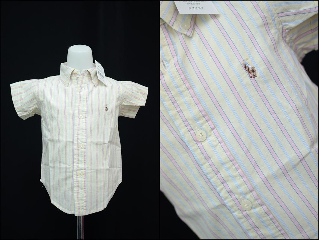 Little Hannah Collection Kemeja Polo By Ralph Lauren