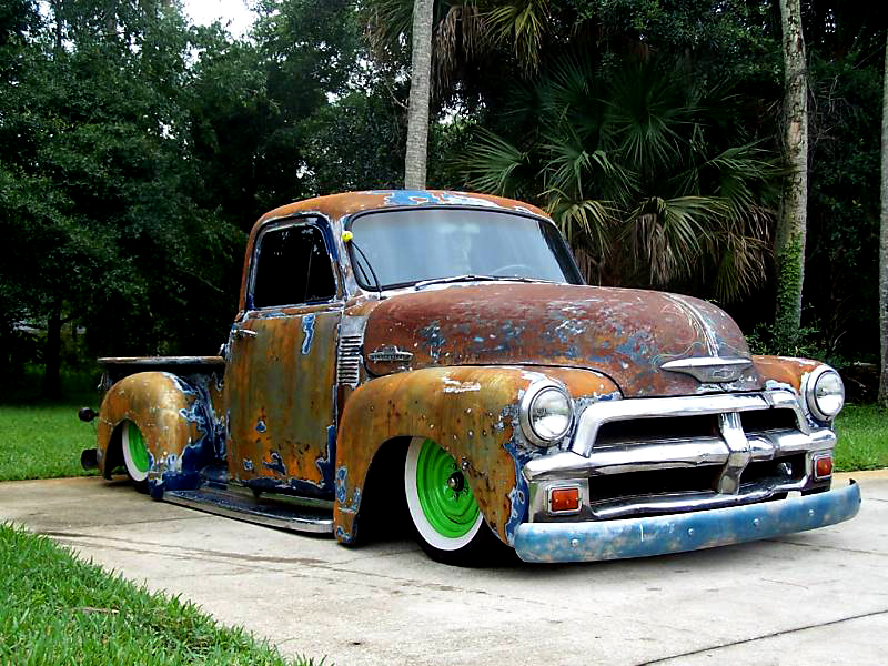 1954 Chevrolet Rat Rodrat Rod Pickup Truck Rat Rod