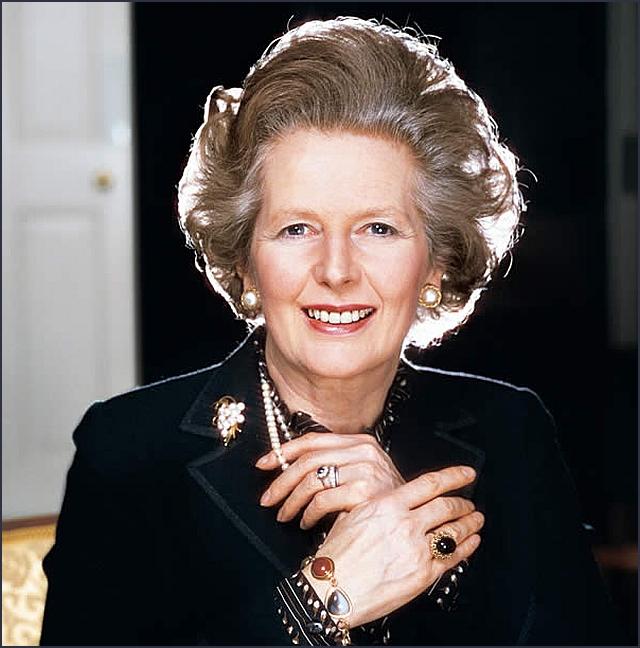 Margaret Thatcher Engagement Ring