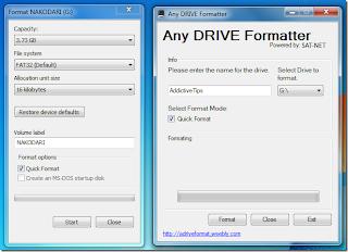 USB Drive Tidak Bisa Diformat? Gunakan Any Drive Formatter