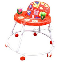 Mothertouch-Round-Walker-Red