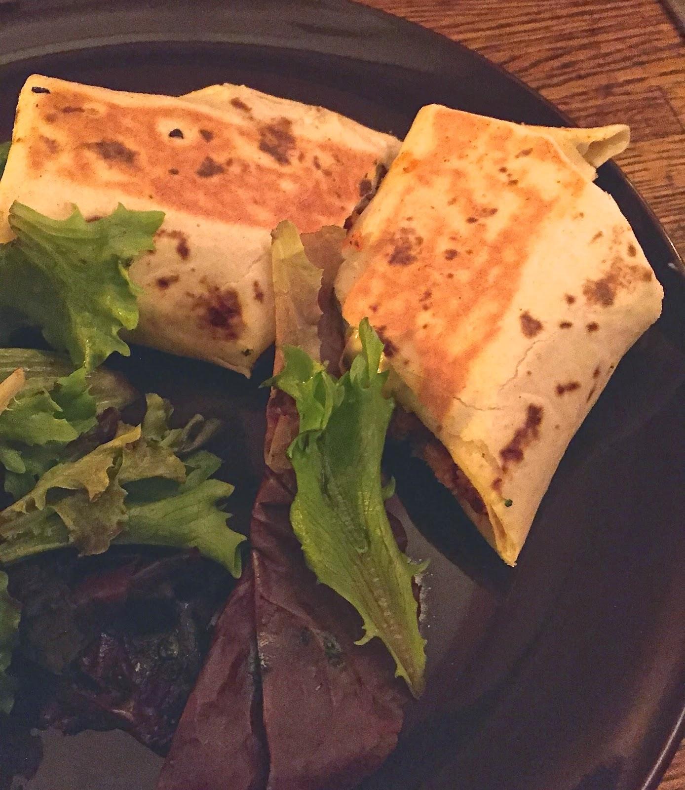 Vegan Chicken Parmesan Wrap - Seasoned Vegan by Veega Harlem