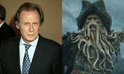 Bill Nighy - Cap. Davy Jones