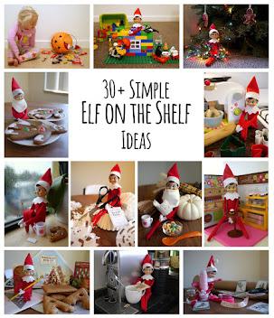 30+ Simple Elf on the Shelf Ideas