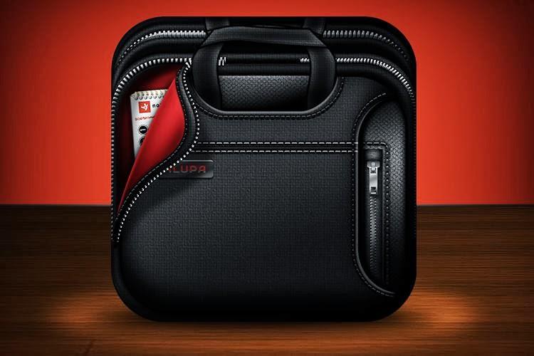 Dark Laptop Bag
