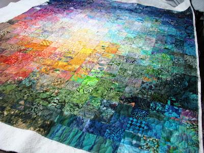 Exuberant Color : Mug rugs, quilting......... : color wash quilts - Adamdwight.com