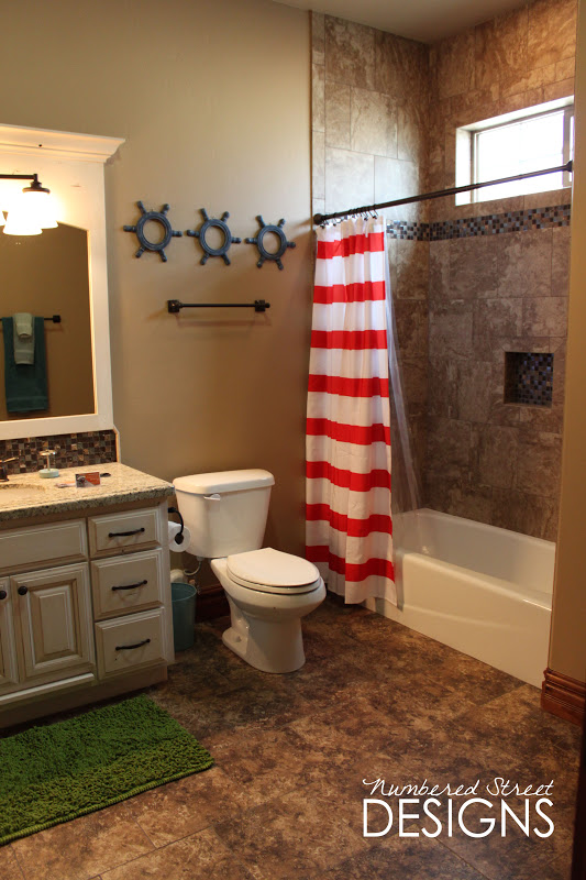 Pirate Bathroom Decor Target : Numbered Street Designs The Playroom