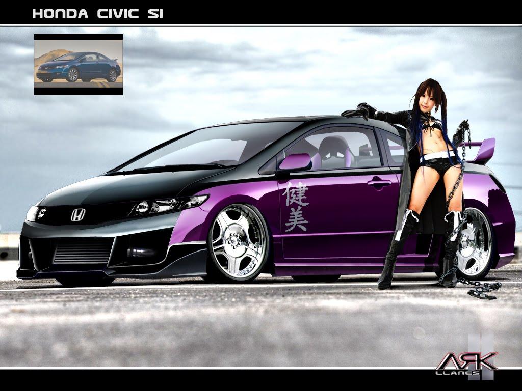 Virtual Tuning Design By ARK Llanes Honda Civic Coupe Si 2009