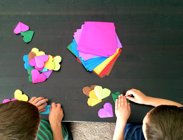 Origami is a great hobby for a six-year-old