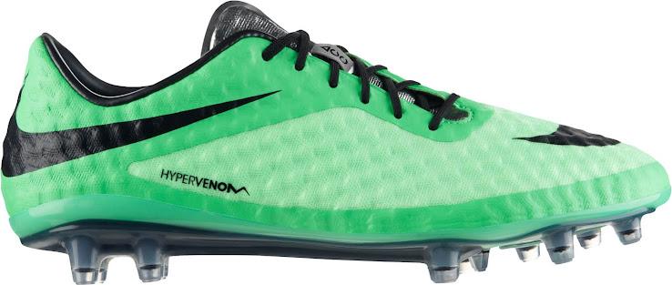Nike Hypervenom Hellgrün / Dunkelgrün