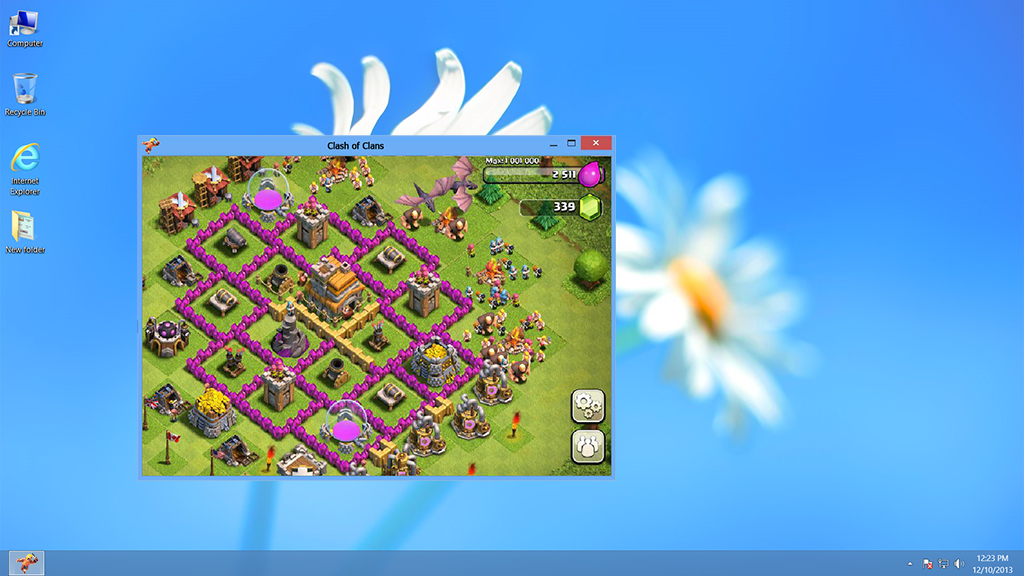Clash of clans for pc play the clash of clans game on pc