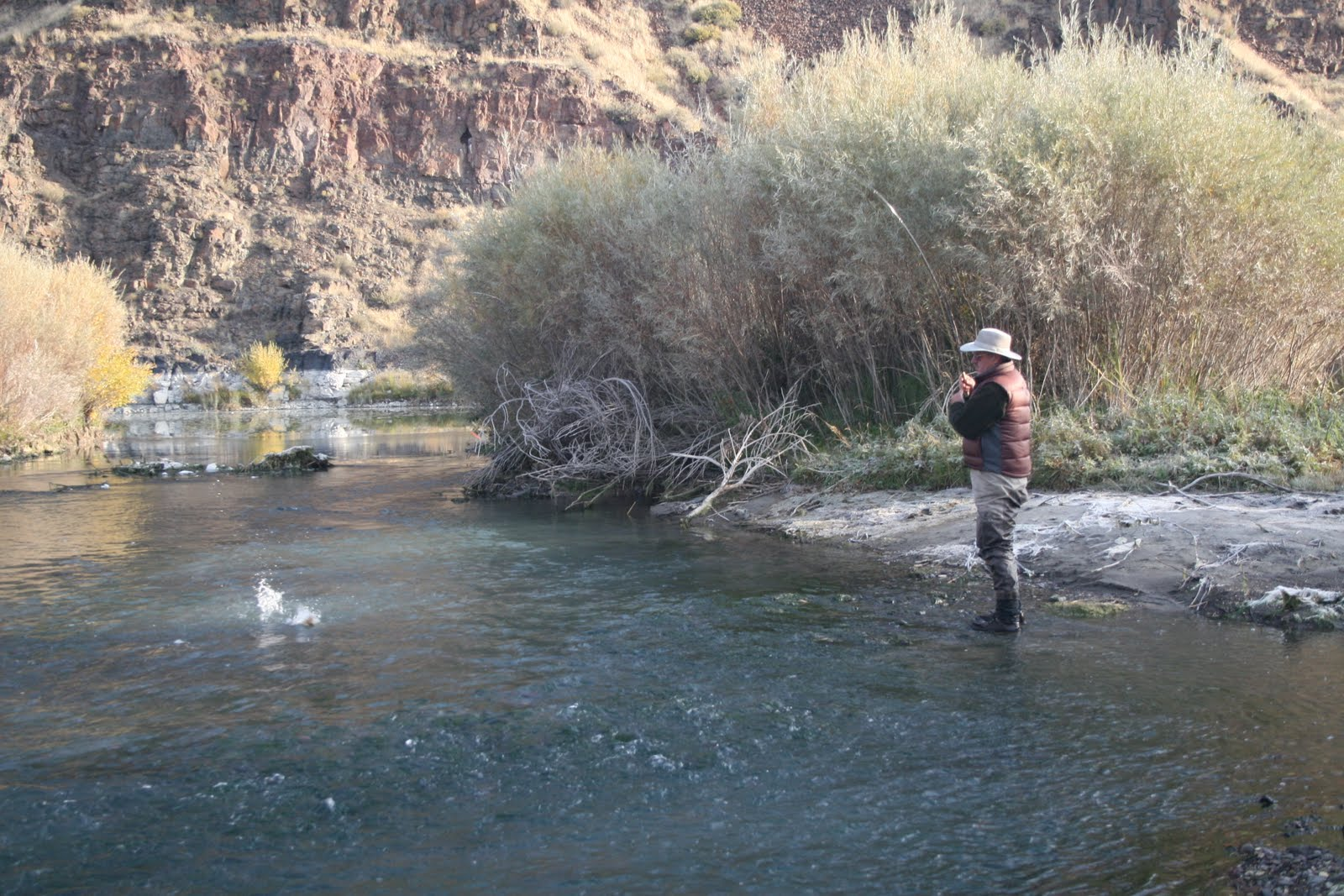 Boots snake river angler fly fishing report for november for Owyhee river fly fishing