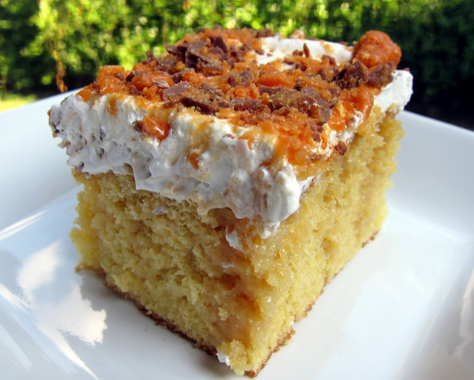 Butterfinger Poke Cake Recipe