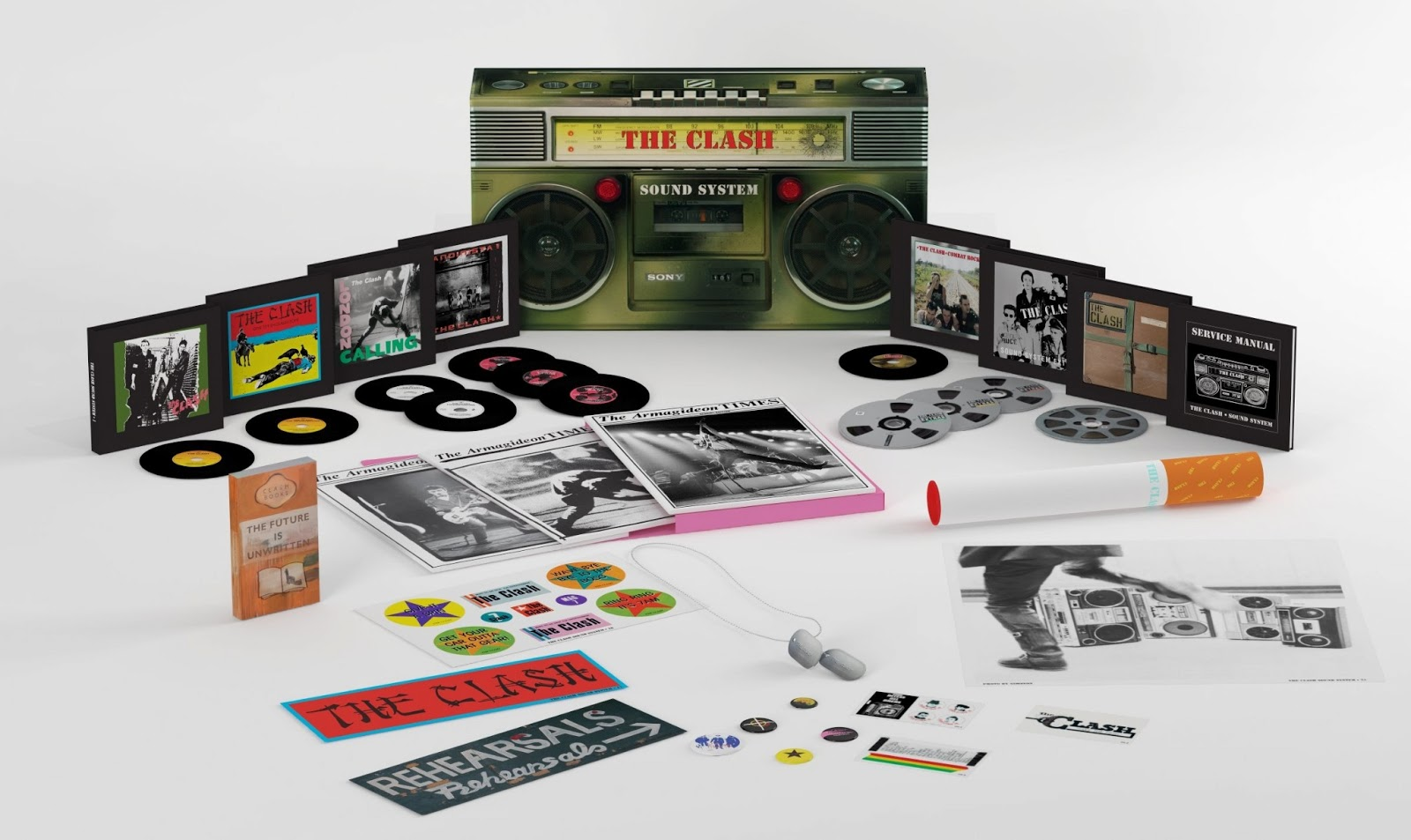 Discussions magazine music blog may 2013 the clashsound system the only box that matters available september 10th 2013 publicscrutiny Choice Image