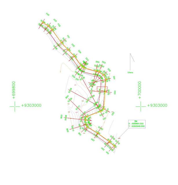 Situasi Contour dan Site Plan Survey Pengukuran Topografi 1