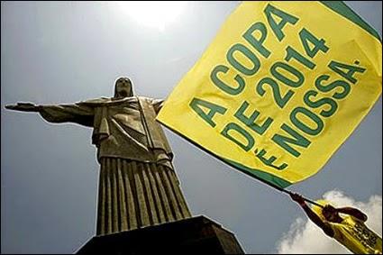 55% da população brasileira diz que Copa trará prejuízos, revela pesquisa.