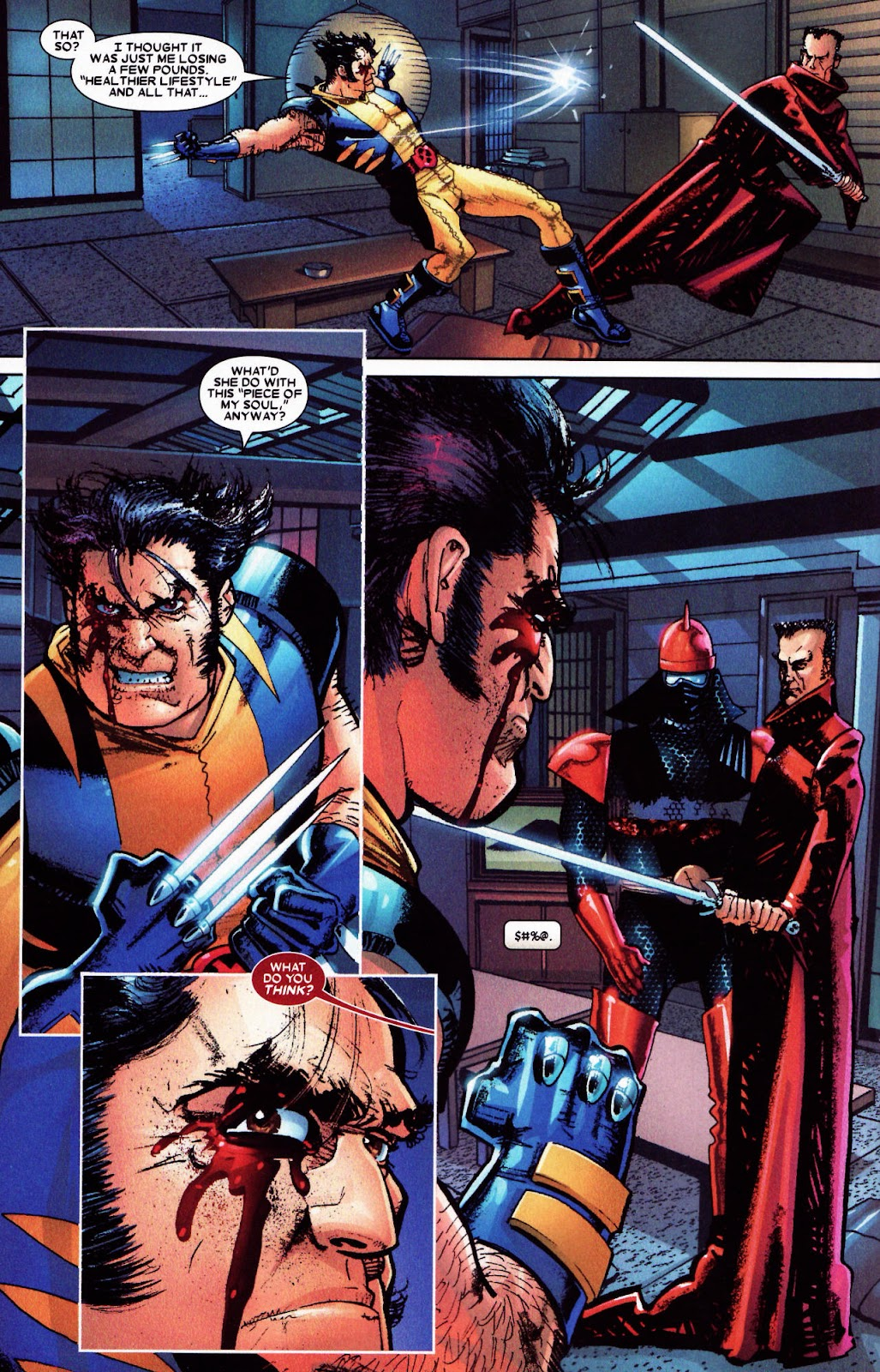 Read online Wolverine (2003) comic -  Issue #61 - 14