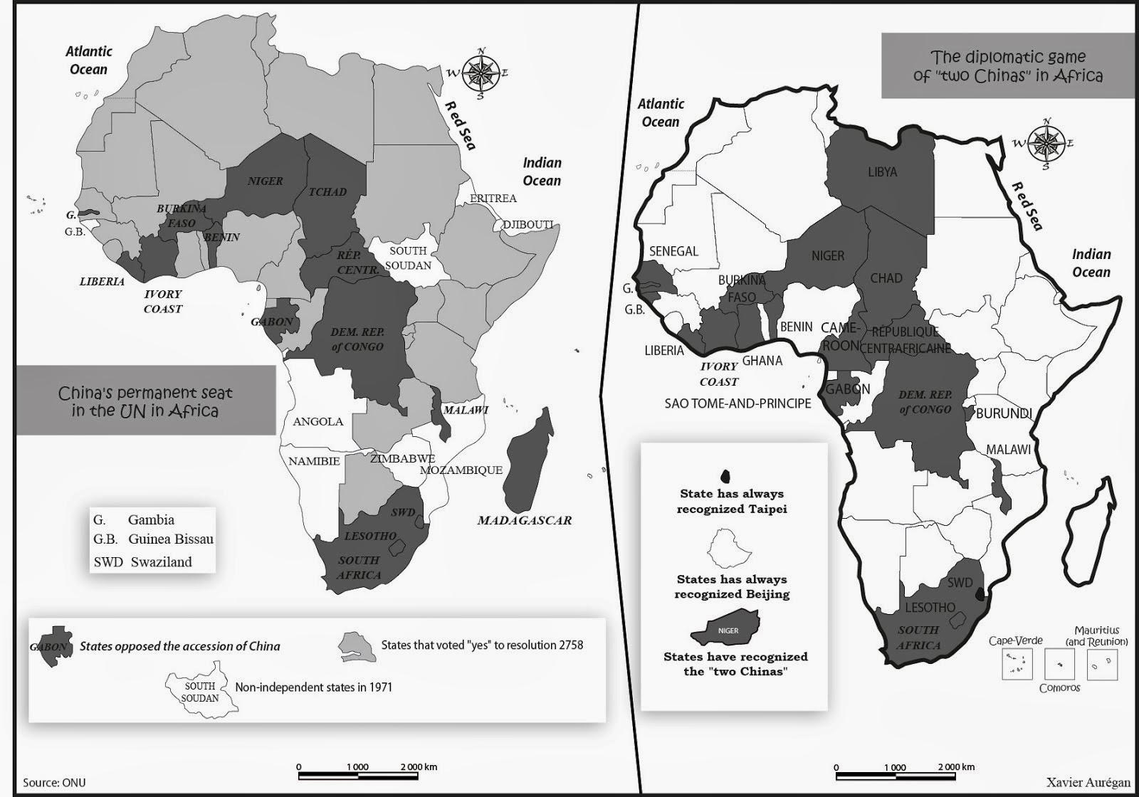 Le jeu des 2 Chines en Afrique