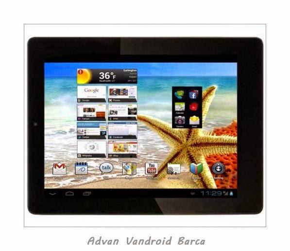 Advan Vandroid Barca Tab 7 Seputar Dunia Ponsel Dan HP