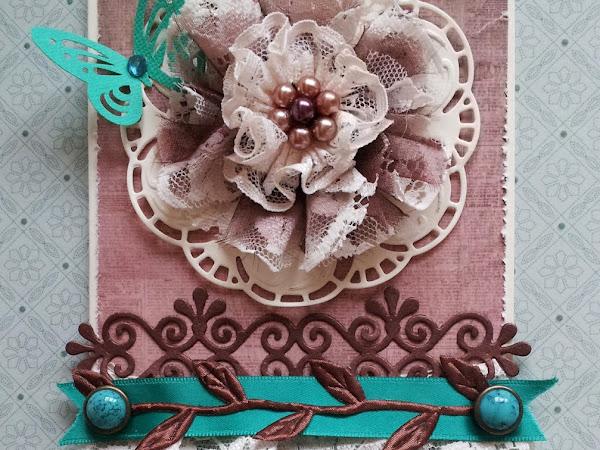 Lace flower / Koronkowy kwiat