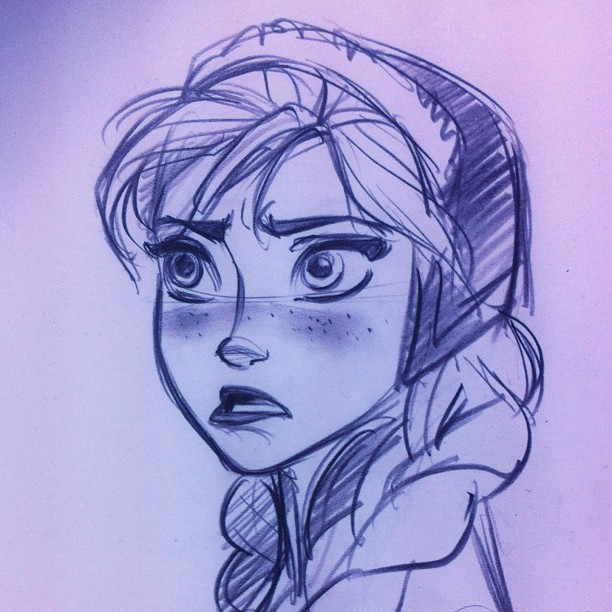 how to draw kristoff from frozen by percy