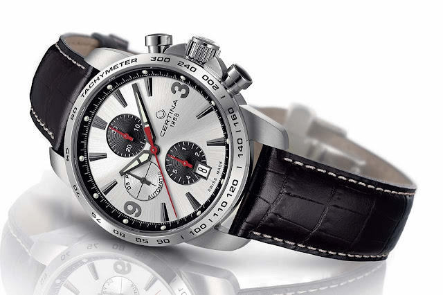Certina DS Podium Chronograph – Automatic leather