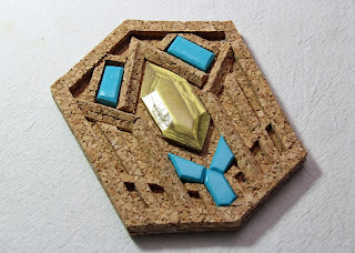 Thorin buckle - cork