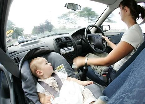 Forward Facing Car Seat California