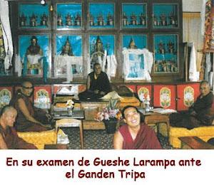 Examen ante Ganden Tripa