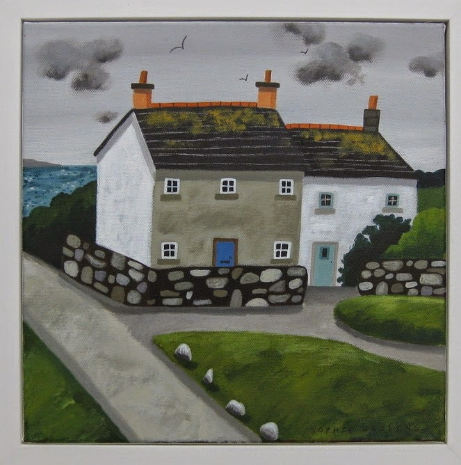 Sophie Harding - Grey Skies and Cottages