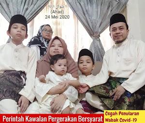 24 Mei 2020 (Ahad) 1 Syawwal 1441
