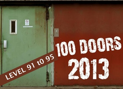 Game Doors 2013 Level 91 92 93 94 95 explanation