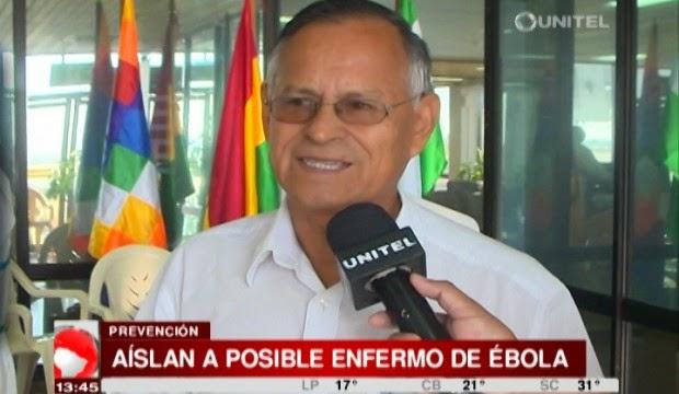 Posible caso de ébola en Bolivia sudamerica